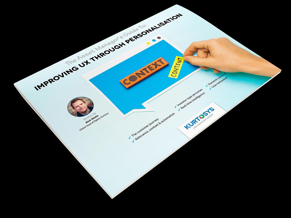 improving UX through personalisation