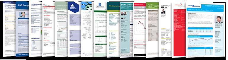 fund factsheets