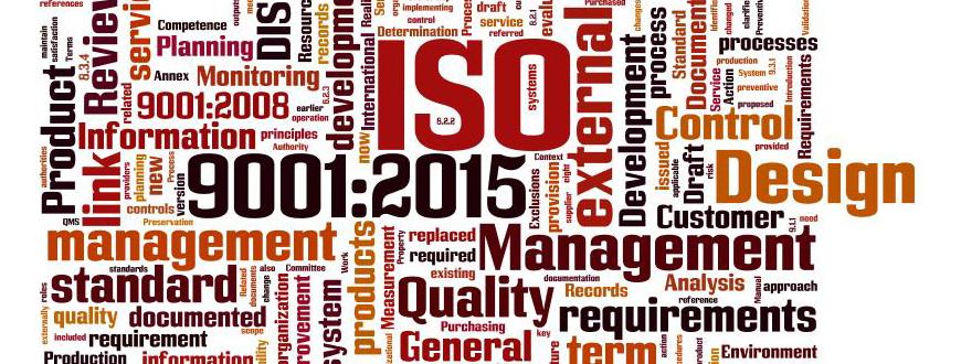 ISO Quality Program Banner