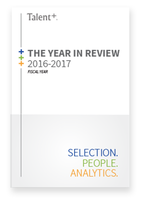 Talent Plus Year in Review