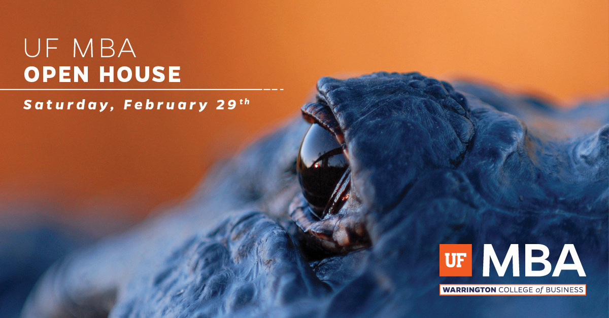UF MBA Spring Open House, Saturday, Feb. 29