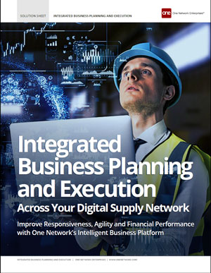 Integrated Business Planning & Execution (IBP)