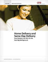 White Paper on Home Delivery and Same-Day Delivery for Retailers