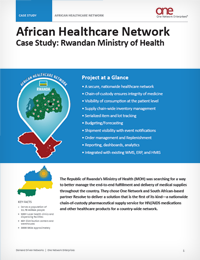 African Healthcare Network - Rwanda's Healthcare Supply Chain - A Pharmaceutical Case Study