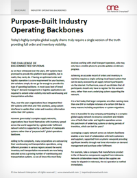 Industry Operating Backbones
