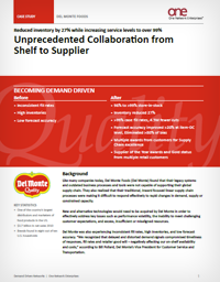 Consumer Products Supply Chain Case Study (Del Monte)