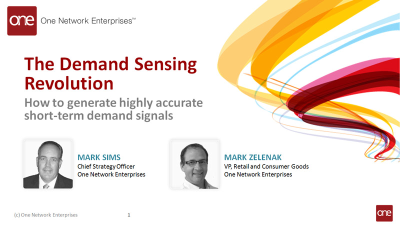 Demand Management and Demand Sensing