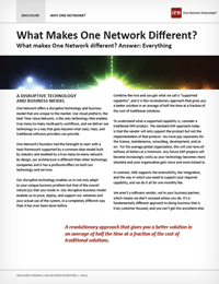 What Makes One Network Different?