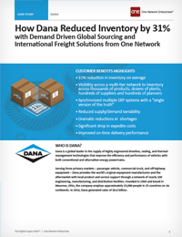 Dana Corp - An Automotive Supply Chain Case Study