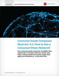 Digitization for Consumer Goods Companies