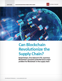 Can Blockchain Revolutionize the Supply Chain
