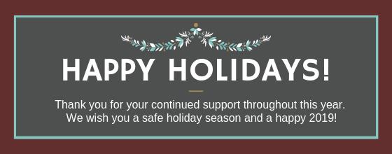 Happy holidays from LibGig