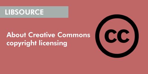 Creative Commons copyright