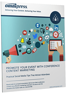 Promote Your Event with Conference Content Marketing Whitepaper