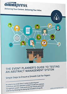 Event Planners Guide to Testing Abstract Management