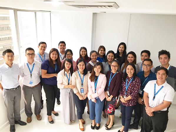 Manila office staff