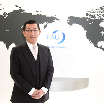 Akitaka Miyamoto CEO TAU Corporation