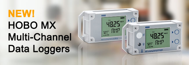 NEW! HOBO MX Multi-Channel Data Loggers