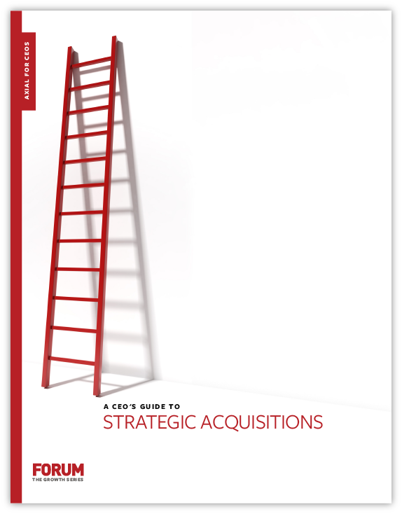 The CEO's Guide to Strategic Acquisitions
