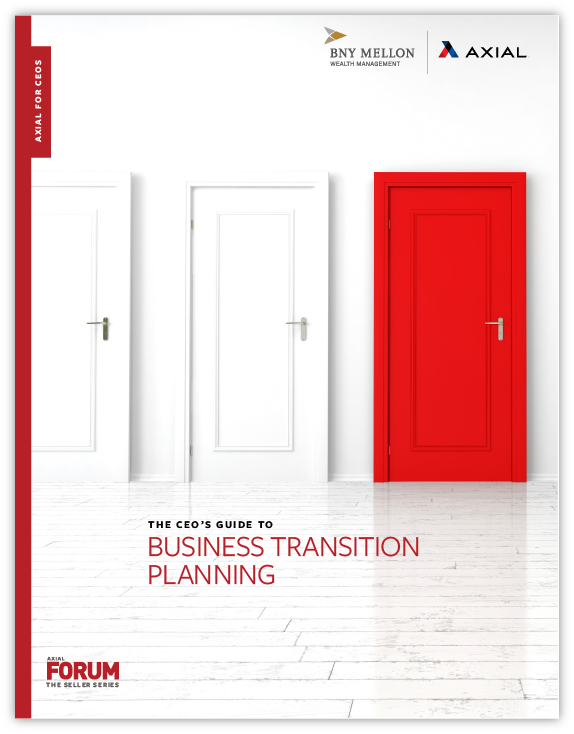 The CEO's Guide to Business Transition Planning
