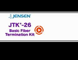 JTK-26 Basic Fiber Termination Kit