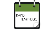 Rapid Reminders Photo