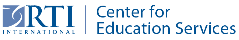 RTI International | Center for Education Services