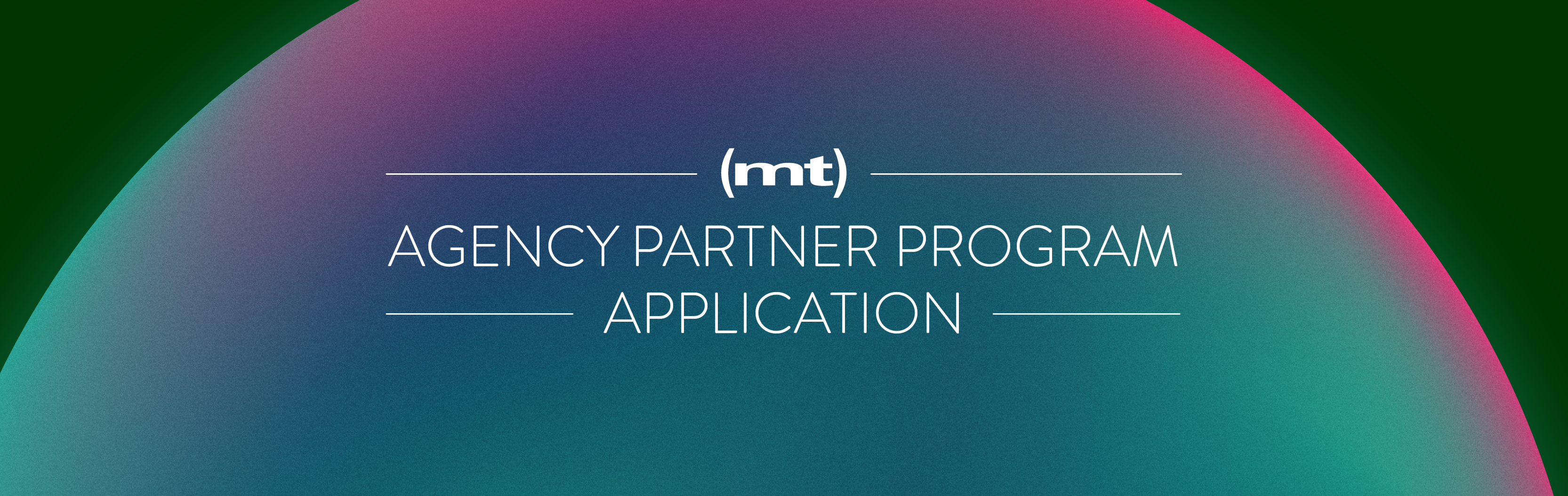 Media Temple Agency Partner Program Application