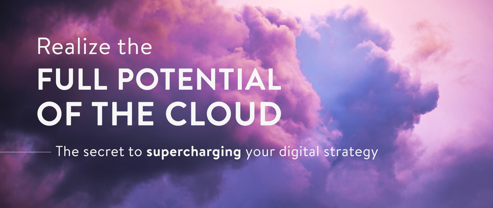 Realize the full potential of cloud hosting