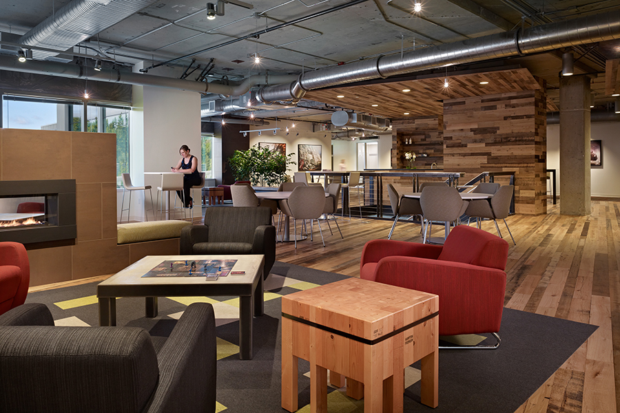 2. Create a variety of work spaces