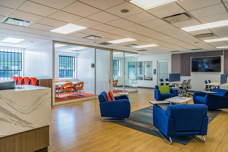 6. Design flexible, open multi-use spaces