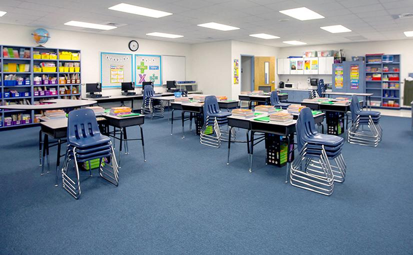 Cranberry Elementary Classroom Before the Ruckus Grant Program