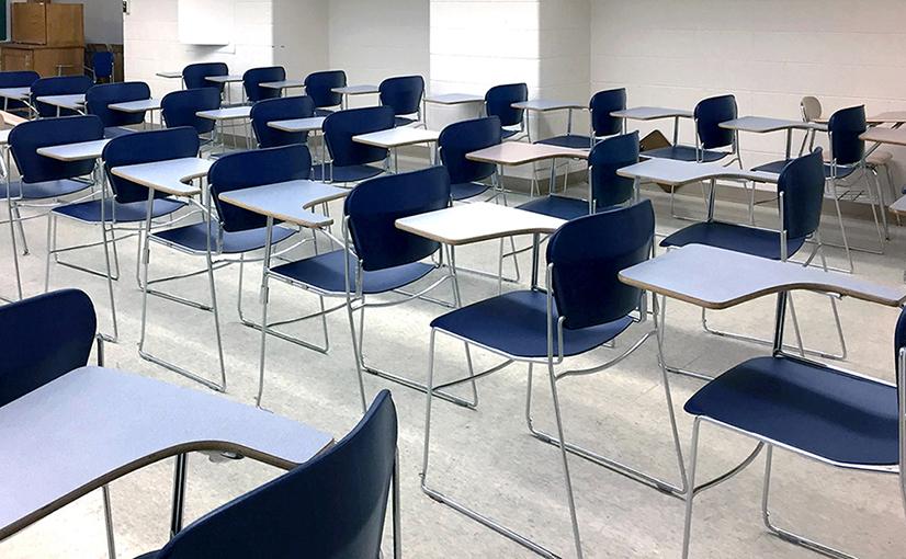 University of Illinois Urbana-Champaign Classroom Before the Ruckus Grant Program