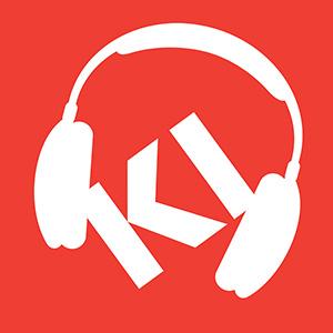 KI Logo with Headset