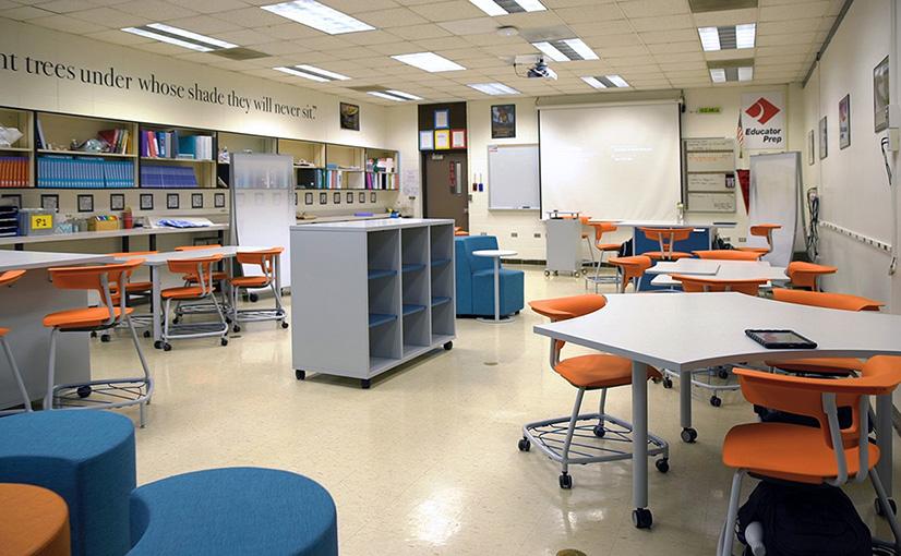 Buffalo Grove Classroom After the Ruckus Grant Program