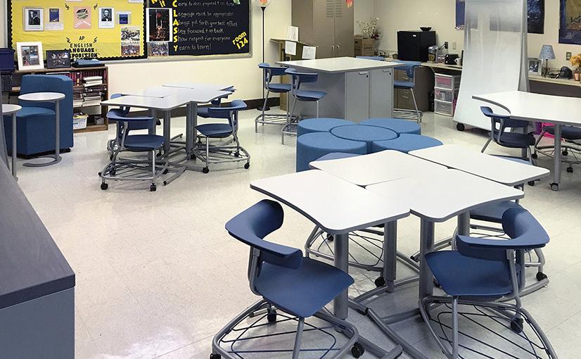 Thomas Jefferson High School Classroom After the Ruckus Grant Program