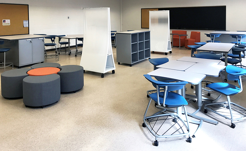 York Technical College Classroom After the Ruckus Grant Program