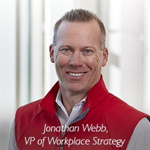 Jonathan Webb, VP of Workplace Strategy