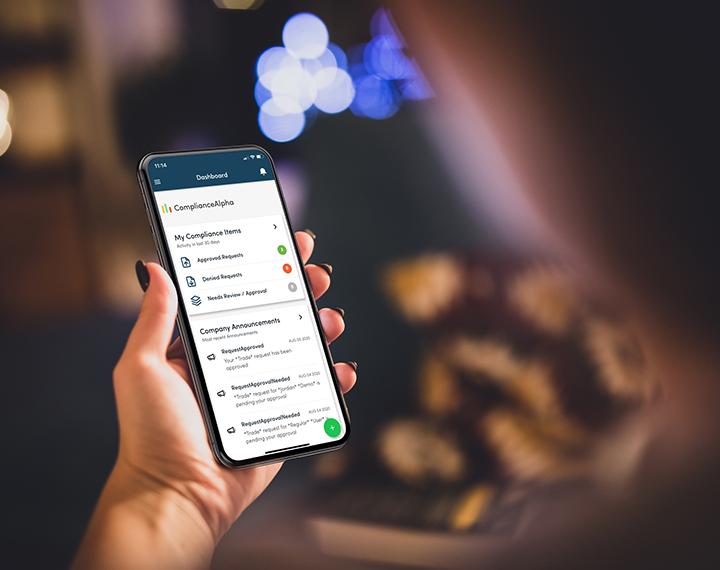 compliancealpha mobile app