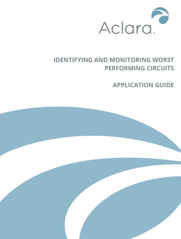 Identify and monitor worst performing circuits with smart grid sensors
