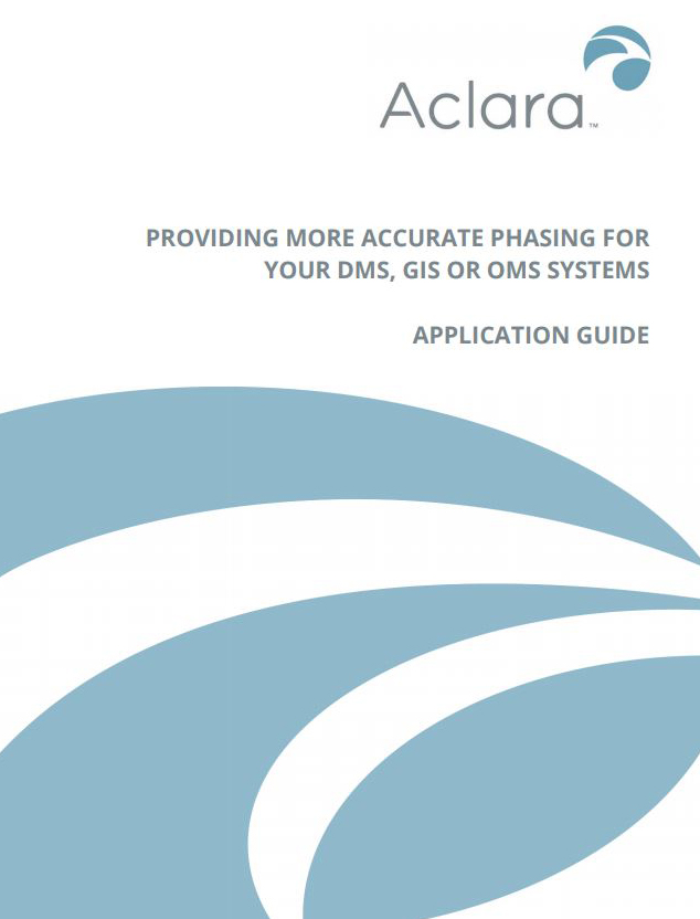 Accurate Phasing For Your DMS, GIS with Aclara Smart Grid Sensors