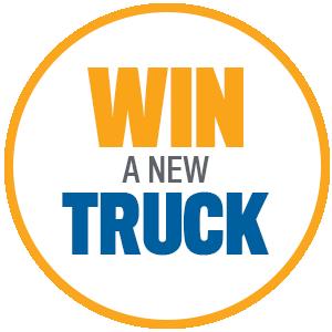 Win a New Toyota Truck