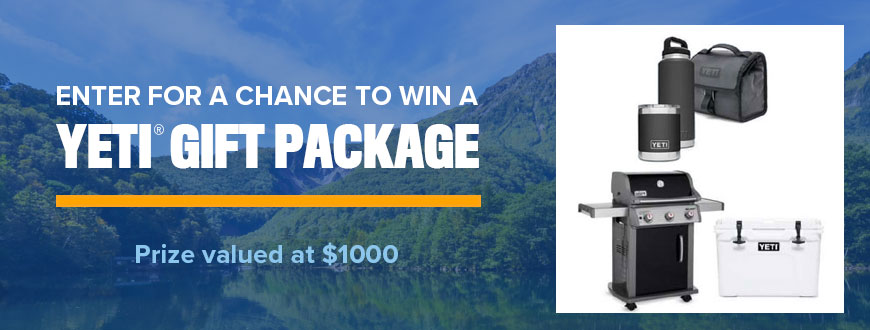 YETI Summer Outdoor Prize Package