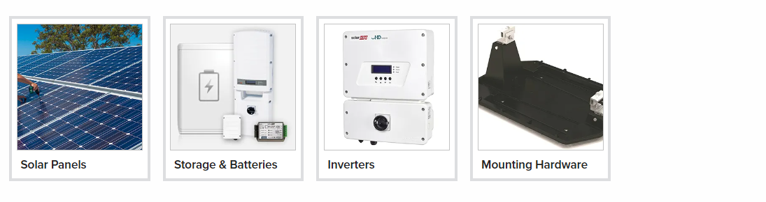 Solar Products and Accessories