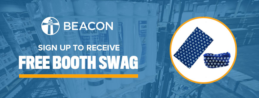 Beacon Booth Swag
