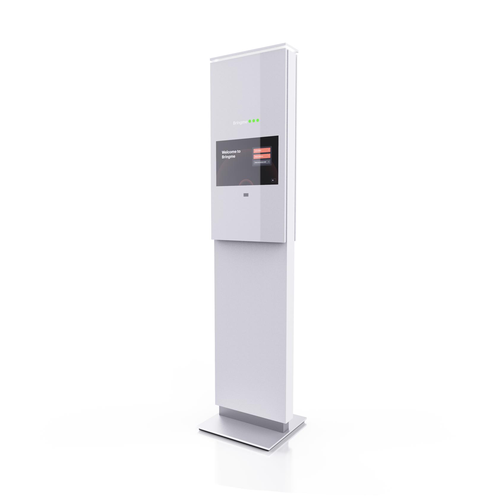 QR scan Bringme Desk