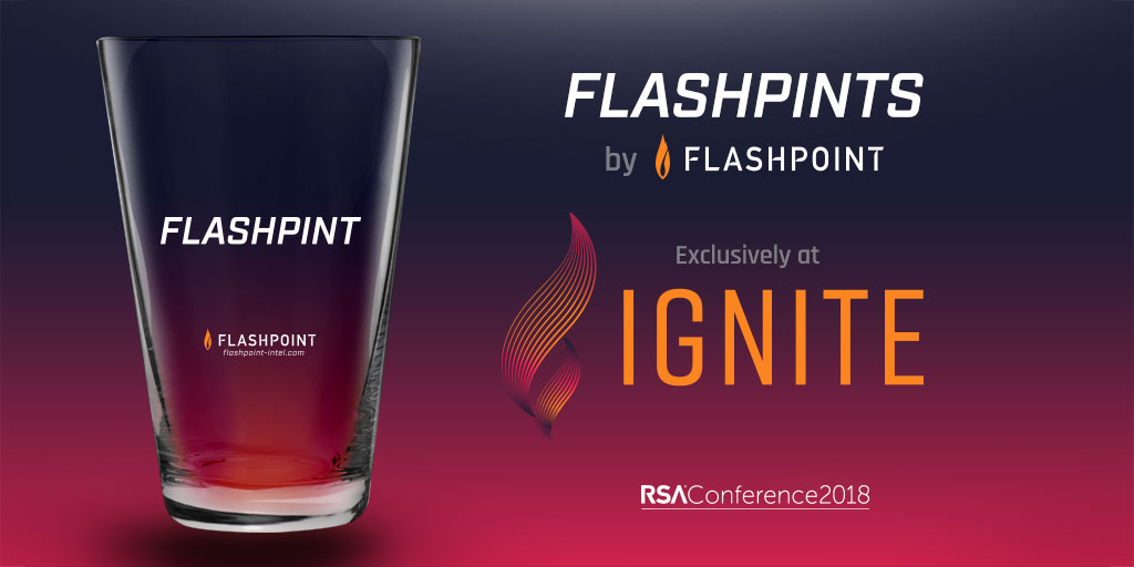 RSA Conference 2018 | Exclusive at Ignite: Flashpints