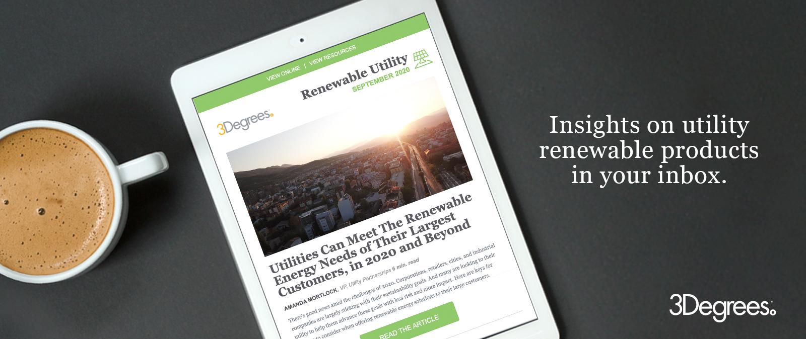 Renewable Utility