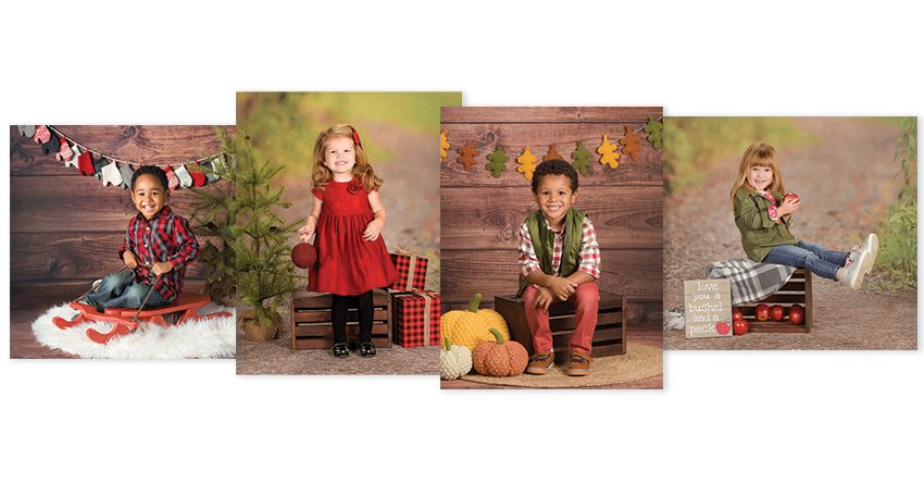 Look forward to the best fall and holiday backgrounds!