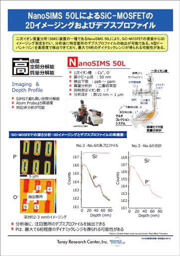 先端SIMS分析仪NanoSIMS 50L